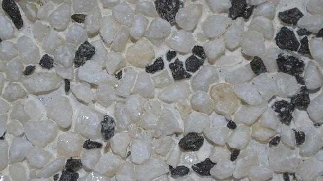 Цементно-стружечные плиты ЦСП с декоративной каменной крошкой, цвет белая береза