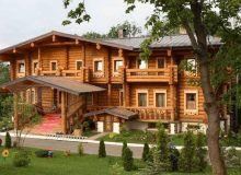 Деревянный рубленный дом - русский стиль строительства