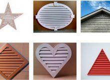 Фасадные решетки различной формы