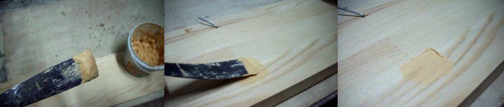 Как шпаклевать деревянную поверхность