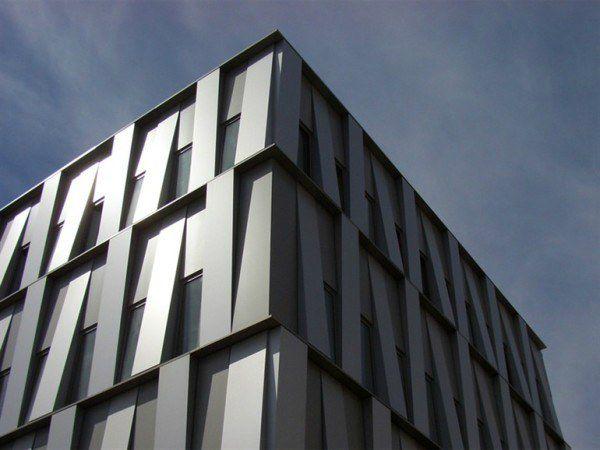 Металлические фасадные панели с полимерным покрытием