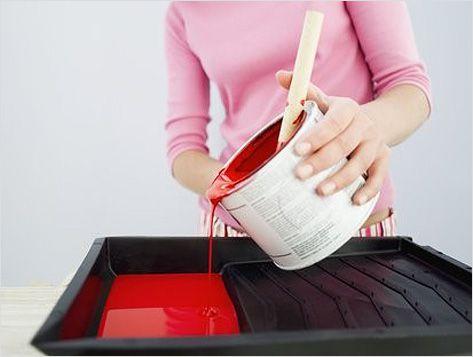 Обязательно перемешивайте краску