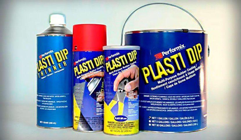 Plasti Dip - резиновая краска