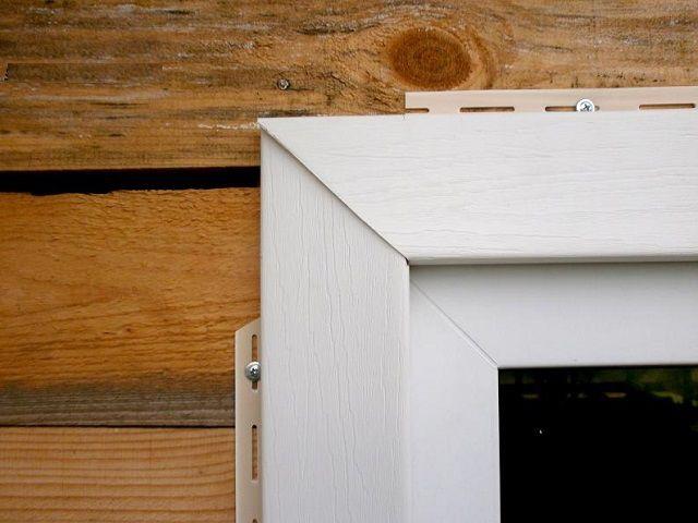 Пример отделки окна