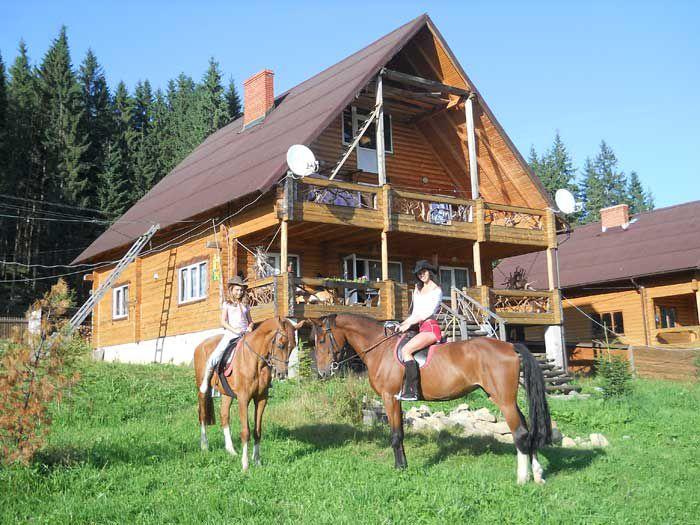Ранчо, деревянная отделка
