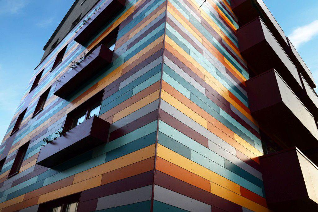 Алюминиевые композитные фасадные панели