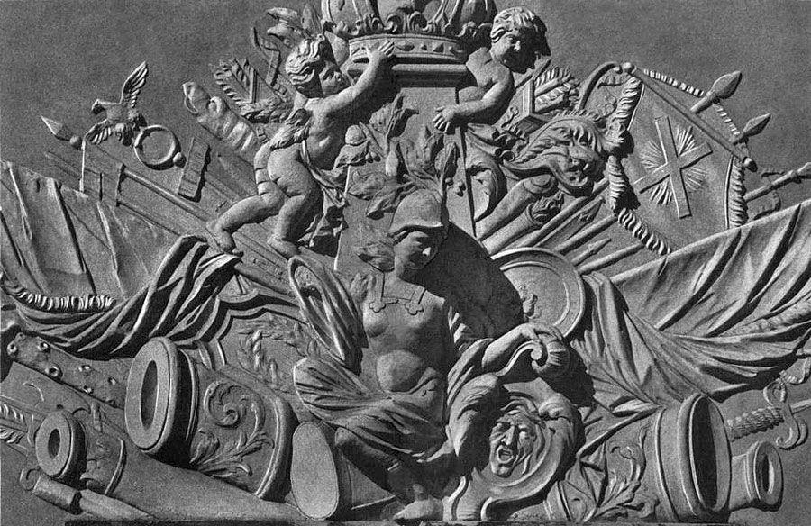 Барельеф с изображением богов