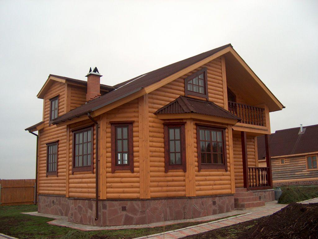 Блок-хаус: красиво снаружи, удобно изнутри