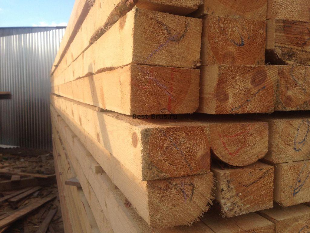 Брус деревянный 50х50 мм
