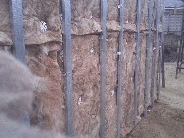 Деревянный каркас под сайдинг