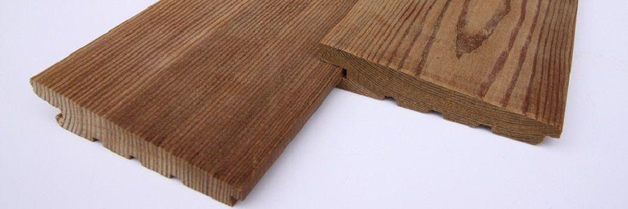Деревянный сайдинг для отделки дома