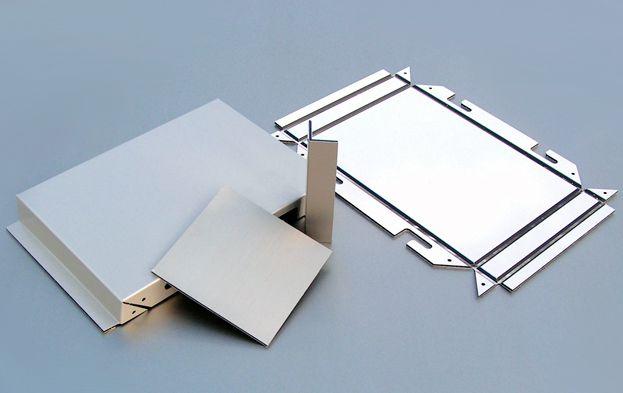 Фасадные металлокассеты из оцинкованной стали