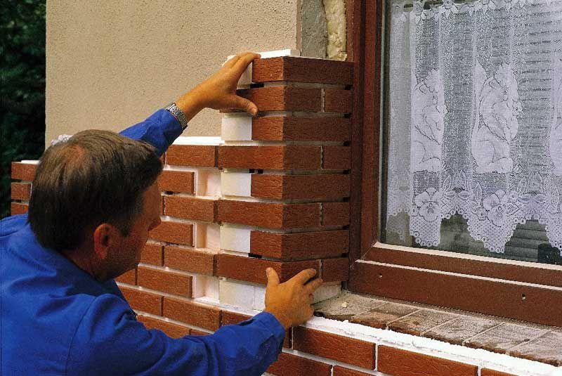 Монтаж термопанелей фасадных с клинкерной плиткой