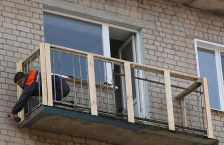 Обрешетка под сайдинг своими руками для балкона.