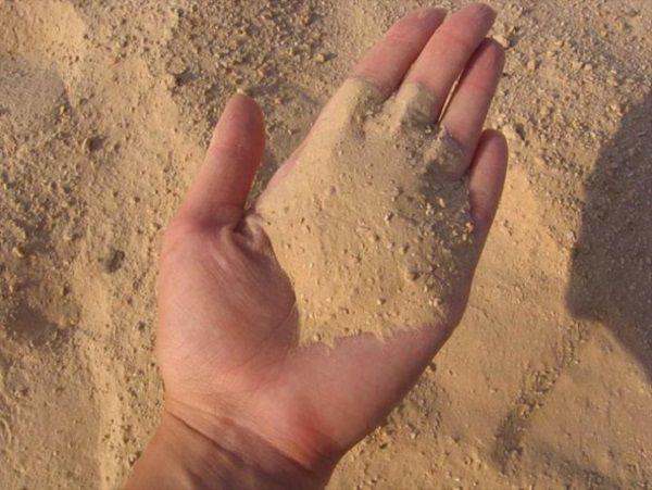 Песок для штукатурки