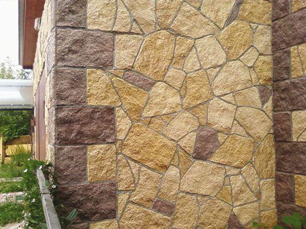Полноценной заменой природному может быть камень искусственный