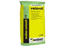 Штукатурка цементная Weber Vetonit