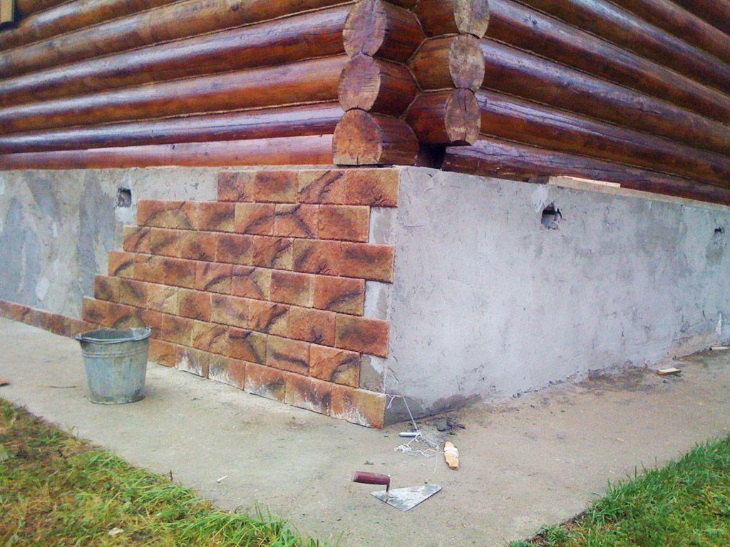 Цокольные панели для наружной отделки фундамента дома снаружи