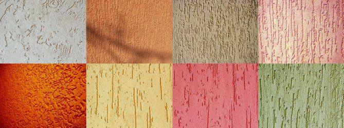 Варианты формирования текстуры