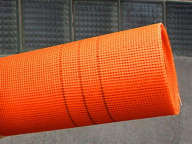 Армирующая сетка для штукатурки пенопласта. Фото