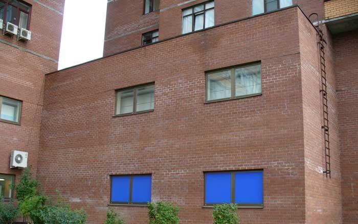 Фасад, которому требуется гидрофобизация