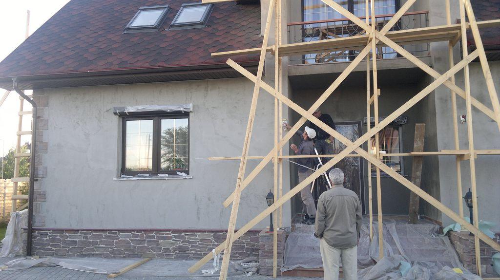 Готовим фасад к отделке