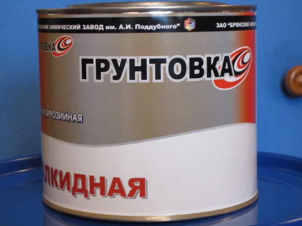 Грунтовка алкидная антикоррозийная ГФ-021 ГОСТ 25129-82 по металлу