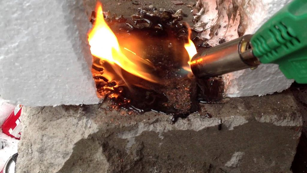 Как горит ПСБ-С