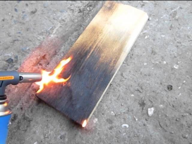 Обжигаем дерево
