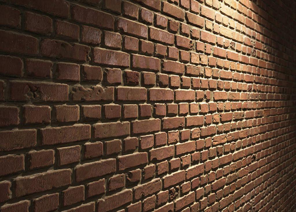 Оцените состояние поверхности кирпичной стены