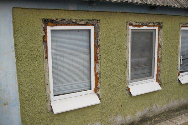 Окна без откосов