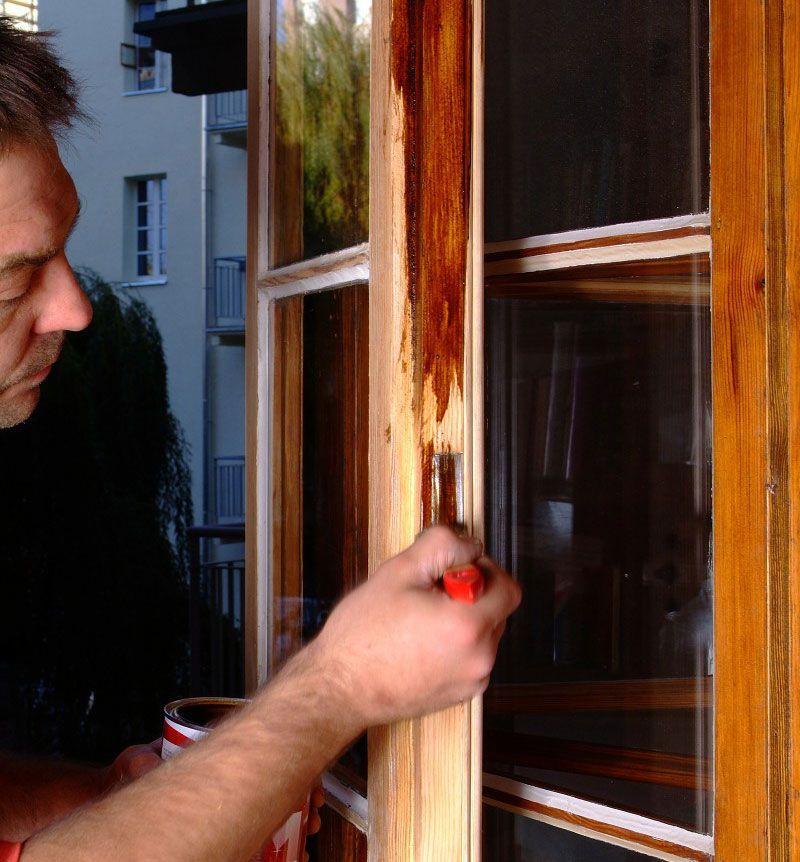Окрашивайте рамы в хорошо проветриваемом помещении