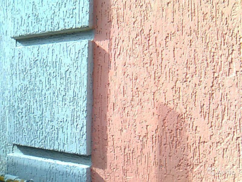 Отделка фасада декоративной штукатуркой