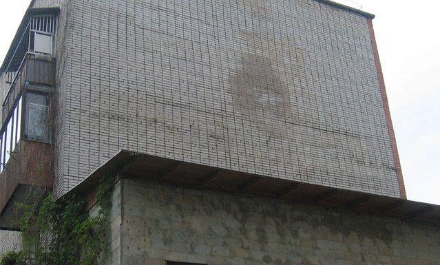 Сырое пятно на стене