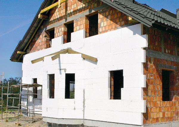 Утепление фасадов пенопластом