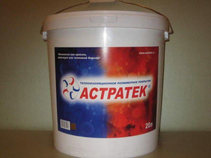 Жидкая теплоизоляция Астратек