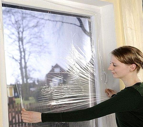 Защищаем стекла от попадания раствора