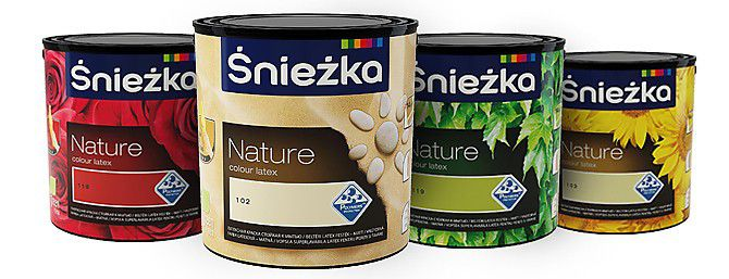 Śnieżka Nature Colour Latex