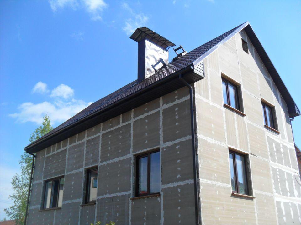 ЦСП панели для наружной отделки дома