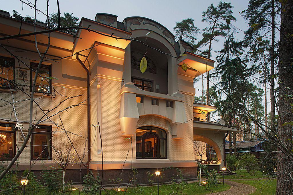 Дом в стиле «Русский модерн»