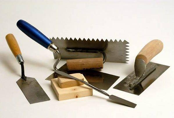 Инструмент для штукатурки стен