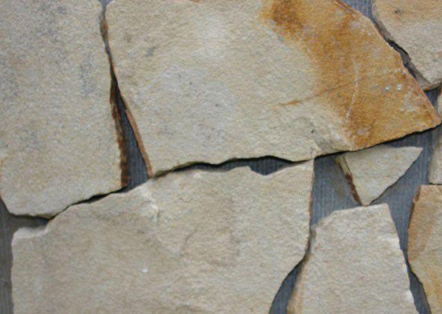 Камень песчаник цвет белёсый