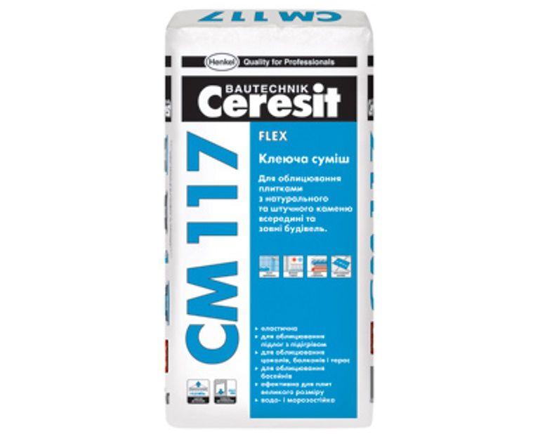 Клей для природного камня - Ceresit CM 117