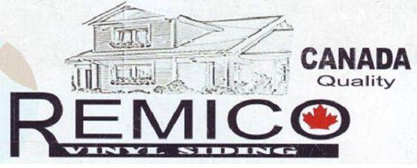 Логотип фирмы производителя винилового сайдинга «Ремико (Remico)»
