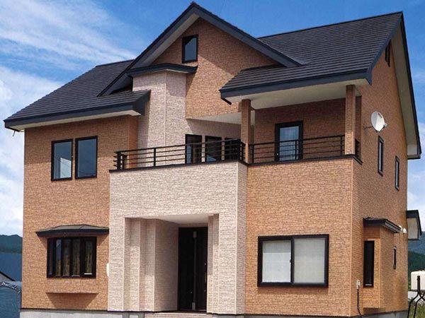 Лучше всего украшатьдвухэтажный дом