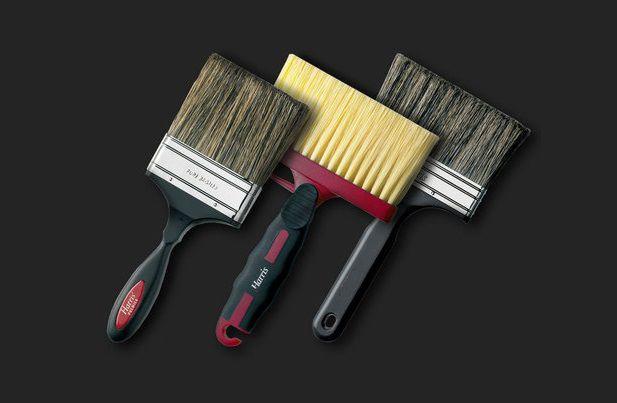 Малярные кисти для покраски стен