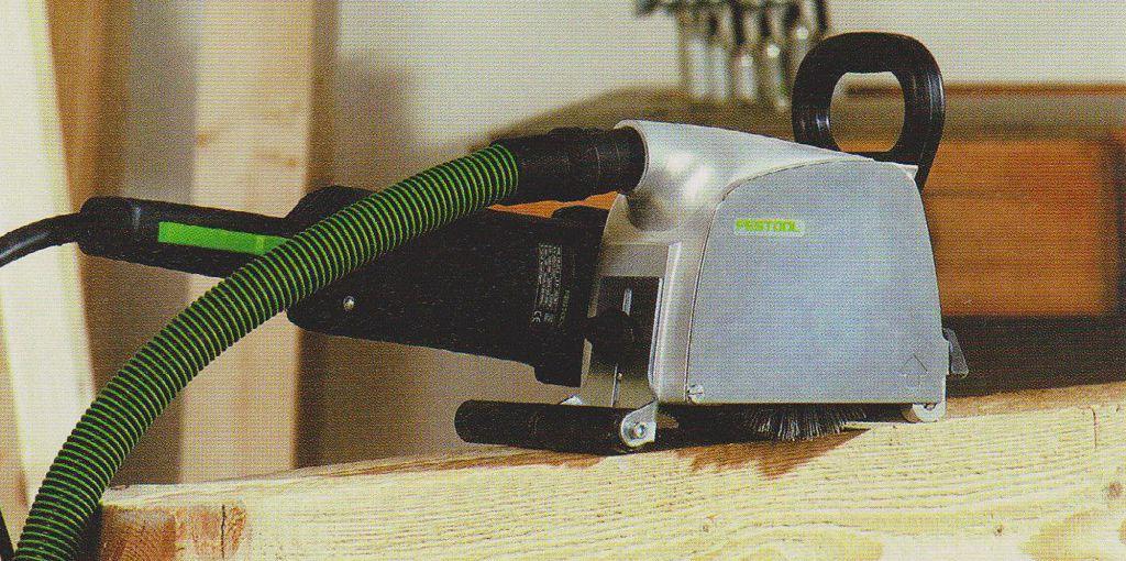 Машинка для браширования древесины с двумя опорными роликами