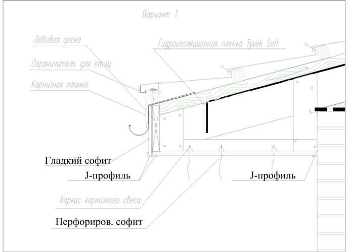 Монтаж софитов