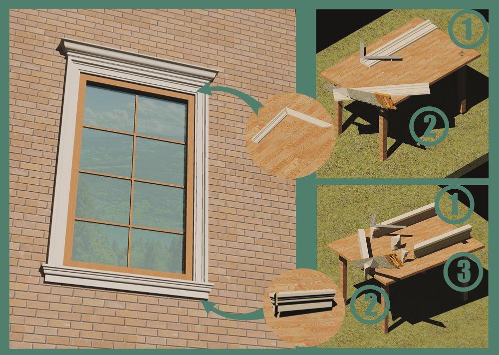 Обрезки от деталей не спешите выбрасывать, они могут понадобиться для монтажа следующих окон