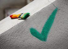Оштукатуривание стены из газобетона